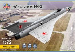 Analog A-144-2 (MiG21 prototype #2)