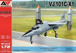 VJ 101C-X1 Supersonic-capable VTOL fighter