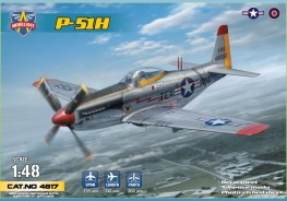 Scale model  P-51H Mustang