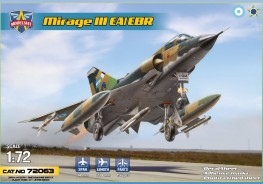 Scale model  Mirage IIIEA/EBR