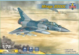 Scale model  Mirage 2000C multirole jet fighter